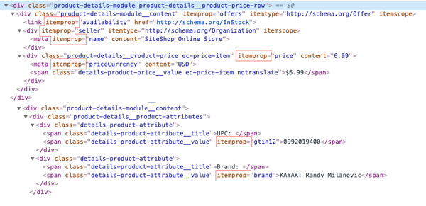 product schema more