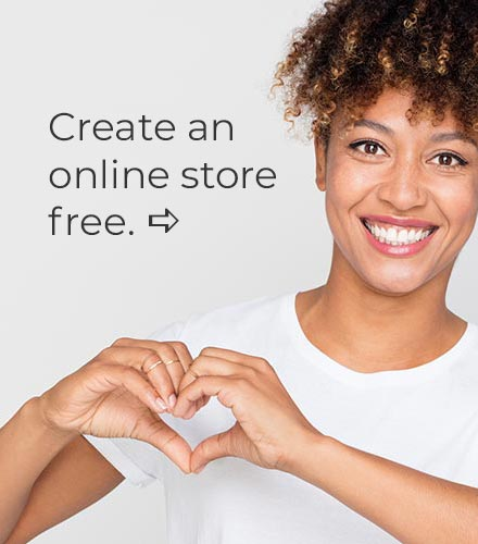 create an online store, free